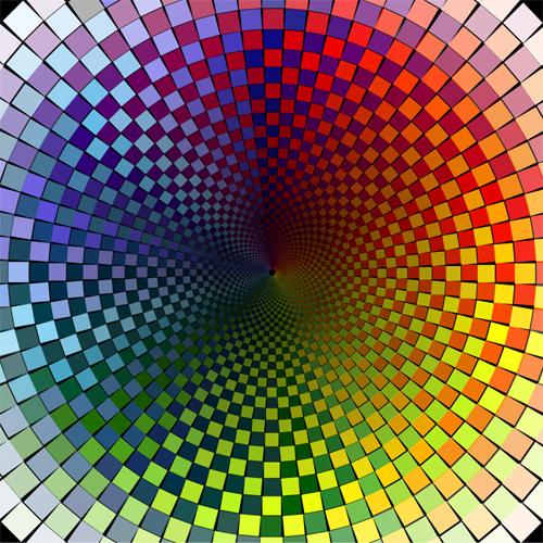 Illusion d 39 optique - Peinture effet profondeur ...