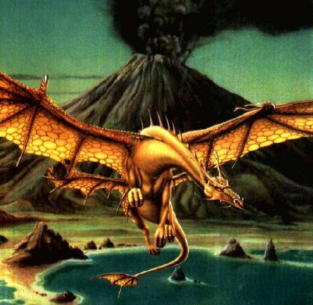 Volcano Dragon